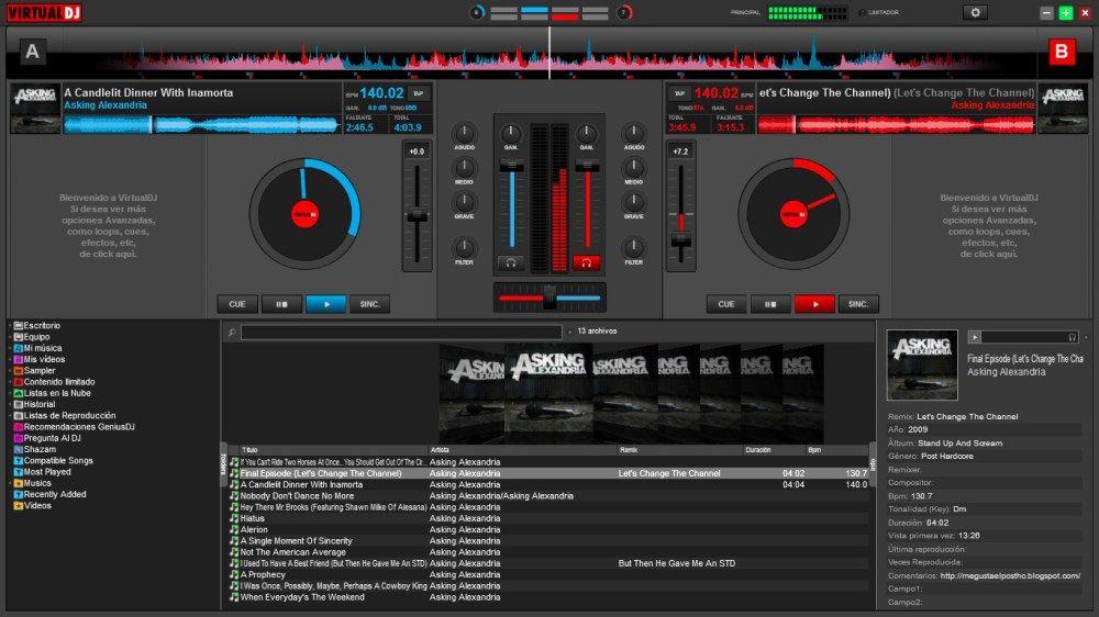 virtual dj pro full mega