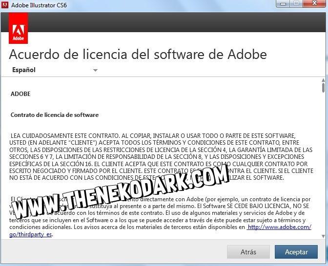descargar e instalar adobe illustrator cs6 full español