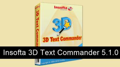 Photo of Insofta 3D Text Commander 5.1.0 FULL Español MEGA
