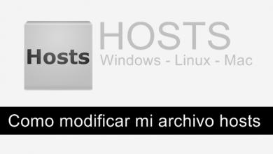 Photo of Como modificar, añadir direcciones a mi archivo hosts