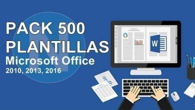 Photo of Microsoft Office MEGA PACK 500 Plantillas (2018), Mejora la presentación de tus trabajos