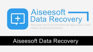 Photo of Aiseesoft Data Recovery 1.1.8, Recupera archivos borrados del disco duro u otro medio de almacenamiento