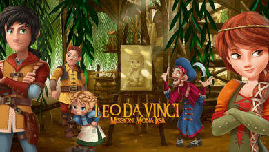 Photo of Leo Da Vinci: Mission Mona Lisa (2018) HD 1080p Latino Excelente