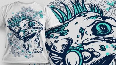 Photo of 306 Súper diseños (Vectores) para sublimación de camisas, recursos gráficos