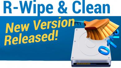 Photo of R-Wipe & Clean 20.0 Build 2277, Borrar archivos inútiles y mantener la privacidad de su computadora